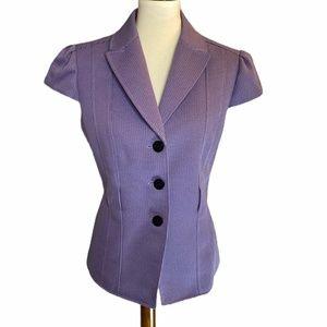 Tahari Purple Petite Blazer